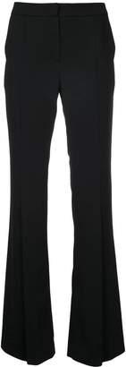GOEN.J slim-fit flared trousers