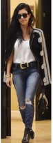 B-Low the Belt Frank Belt in Black/Gold as seen on Kourtney Kardashian and Kendall Jenner