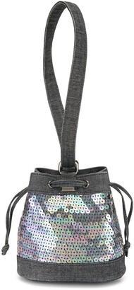 Chanel Pre Owned 1998 Mini Sequinned Handbag