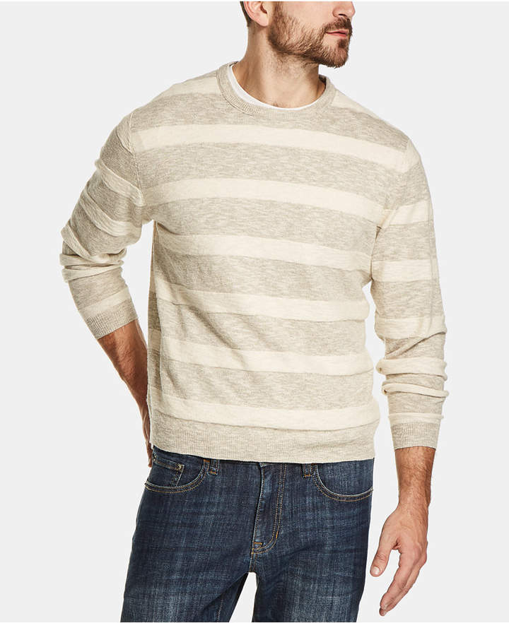 Weatherproof Vintage Men Stripe Sweater