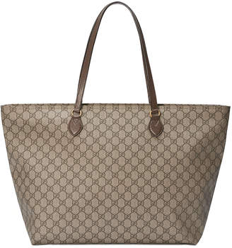 Gucci Ophidia Medium Soft GG Supreme Canvas Tote Bag
