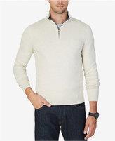 Nautica Men's Quarter-Zip Sweater