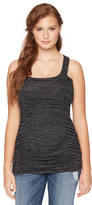 Motherhood Wendy Bellissimo Side Ruched Maternity Tank Top