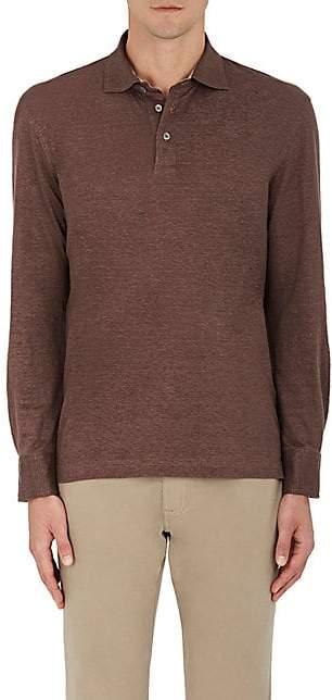 d7fcc743c Mens Long Sleeve Polo Shirt With Pocket - ShopStyle Australia