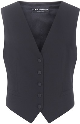Dolce & Gabbana Single-Breasted Vest