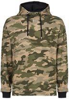 Balmain Oversized Camouflage Sweater