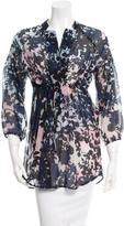 Diane von Furstenberg Floral Locke Tunic