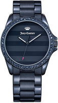 Juicy Couture Women's Laguna Blue Ion-Plated Bracelet Watch 40mm 1901292