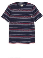 Vans Boy's Higsley Stripe T-Shirt