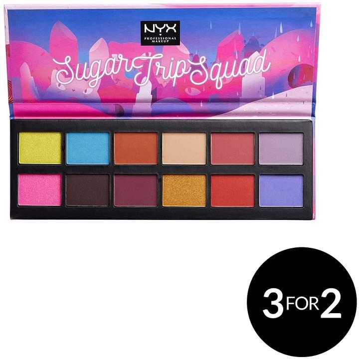 NYX Sugar Trip Squad Eyeshadow Palette