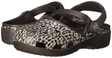 Crocs Karin Leopard Clog (Toddler/ Little Kid)