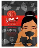 Yes To® Tomatoes Detoxifying Charcoal Paper Mask - 1ct