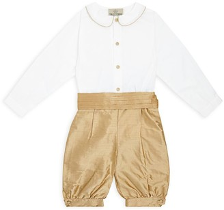 Trotters The Edward Shirt and Trousers Set (1-6 Years)