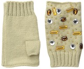 San Diego Hat Company KNG3399 Fingerless Gloves with Handstitched Faux Gems