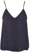 Topshop Pinspot Button Camisole Top