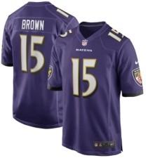 Nike Baltimore Ravens Men's Game Jersey - Marquise Brown