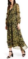 Marianna Lost + Wander Floral Print Long Sleeve Maxi Dress