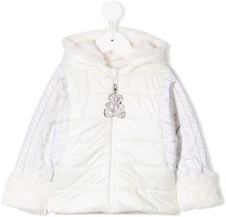 Lapin House Hooded Padded Jacket