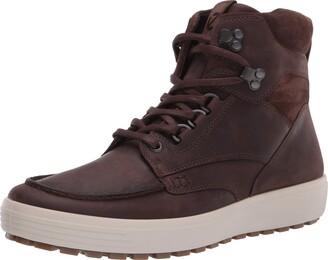 Ecco Men's Soft 7 Tred Moc Toe Boot Sneaker