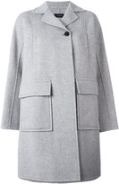 Joseph single button boxy coat - women - Viscose/Cashmere/Wool - 36