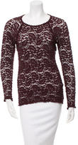 Etoile Isabel Marant Fitted Open Knit Top