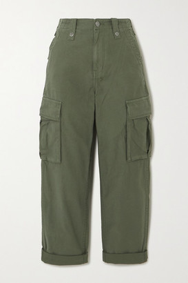 Ksubi Interlude Cotton Cargo Pants - Green