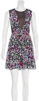 Hanii Y Silk Abstract Print Dress w/ Tags