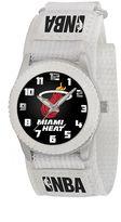 Game Time Rookie Series Miami Heat Silver Tone Watch - NBA-ROW-MIA - Kids
