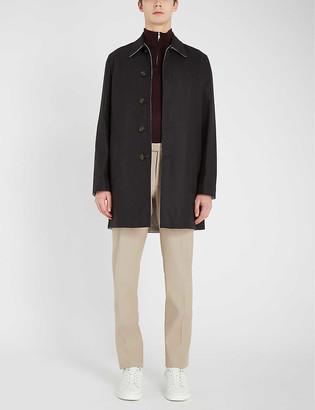 Reiss Flight reversible wool-blend jacket