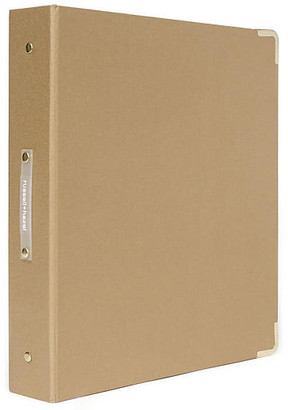 Russell + Hazel Signature Three-Ring Binder - Gold
