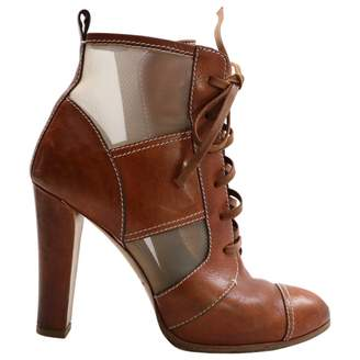 Reed Krakoff Brown Leather Ankle boots