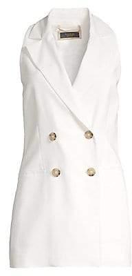 Peserico Women's Sleeveless Double-Breasted Vest
