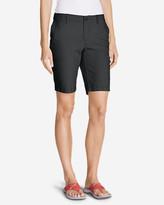 Eddie Bauer Women's Slightly Curvy Adventurer® Ripstop Bermuda Shorts
