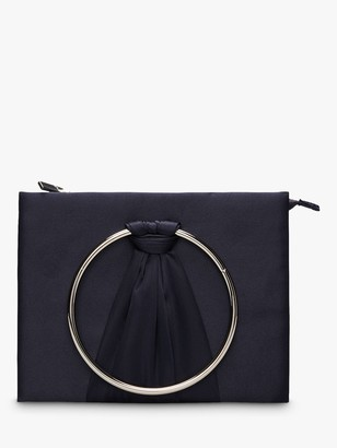 Phase Eight Rhia Ring Clutch Bag, Navy