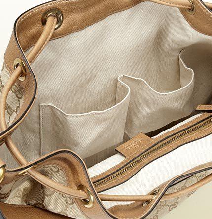 Gucci Rania Drawstring Shoulder Bag