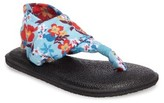Sanuk Toddler Girl's Yoga Sling Burst Sandal