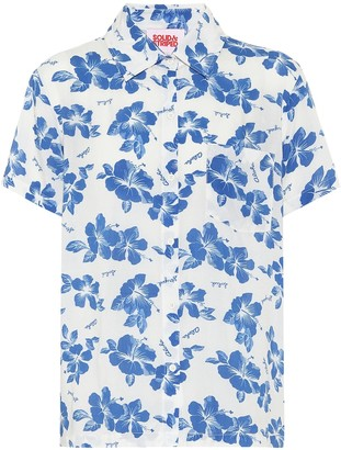 Solid & Striped Cabana floral shirt