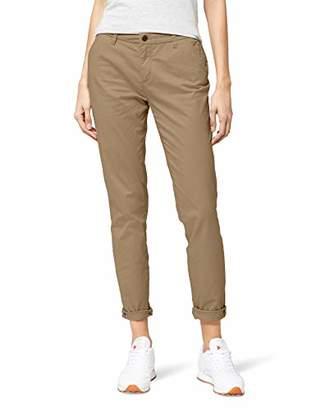 Only Women's onlPARIS REG SK CHINO PANTS PNT AKM NOOS Trouser, Brown (Desert Taupe), 34/L34