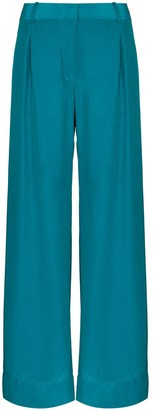 BONDI BORN Fluid Wide-Leg Trousers