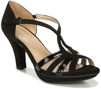 Naturalizer Delina Strappy Heeled Sandal - Wide Width Available