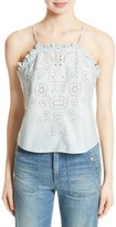 Rebecca Taylor Women's Annabel Eyelet Cotton Tank