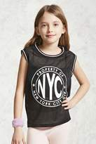 Forever 21 FOREVER 21+ NYC Graphic Tank Top (Kids)