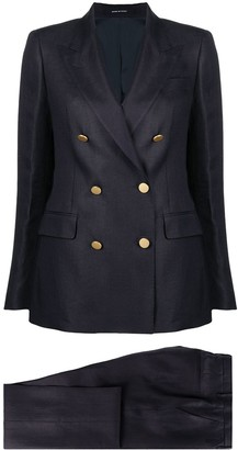 Tagliatore Double-Breasted Tailored-Suit