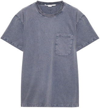 Stella McCartney Faded Cotton-jersey T-shirt