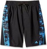 "adidas Men's Big and Tall Camo Grid 10"" Inseam Volley Swim Trunk"