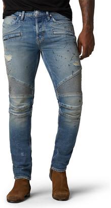 Hudson Men's Blinder Biker V2 Distressed Slim Jeans