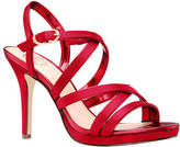 I. Miller Womens Ricole Pumps Open Toe Cone Heel