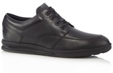 Kickers Black Leather Lace Up Shoes