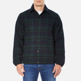 Edwin Coach Jacket Black Watch Tartan