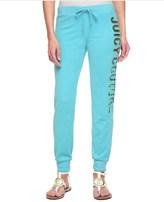 Juicy Couture Logo Terry Long Live Jc Slim Comfy Pant